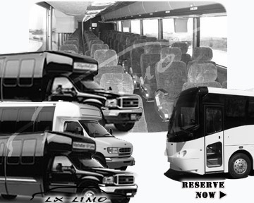 Fort Myers Bus rental 36 passenger