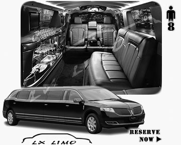 Stretch Limo for hire in Fort Myers