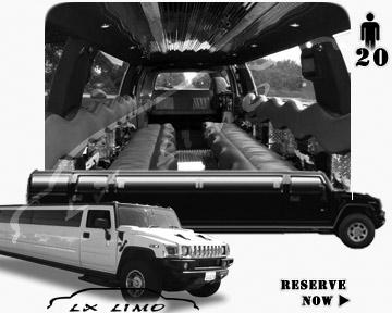 hummer H2 SUV Limo in Fort Myers, FL