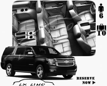 SUV Suburban for hire in Fort Myers