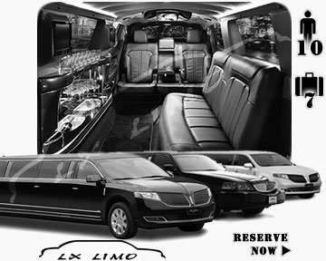 Fort Myers Town Car Stretch Limo for rental