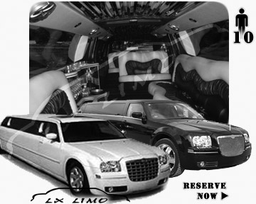 Chrysler 300 Limo for wedding in Fort Myers